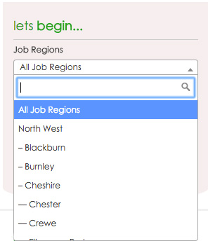 The Business Connection Chester Search Form